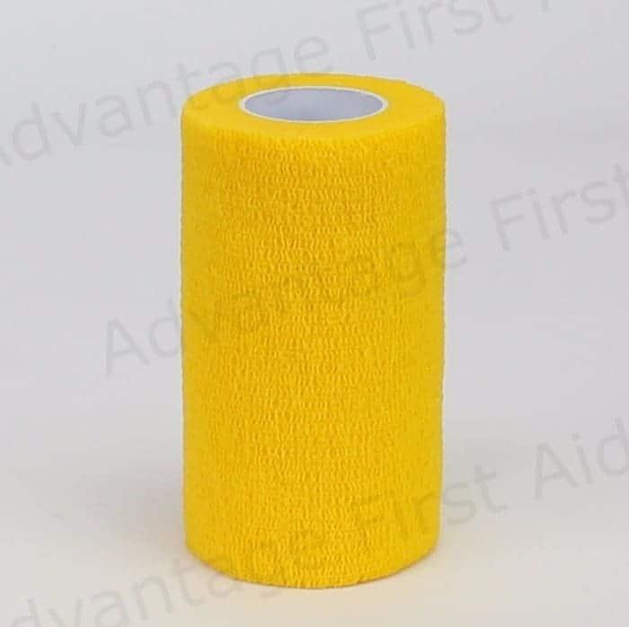 Yellow Cohesive 10cm