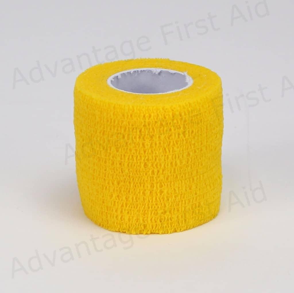 Yellow Cohesive 5.0cm