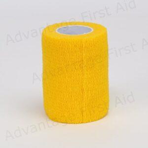 Yellow Cohesive 7.5cm