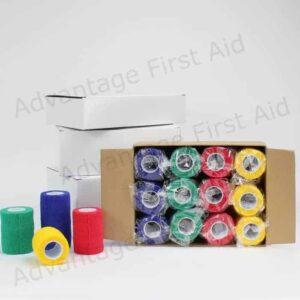 Multi Colour Cohesive Box
