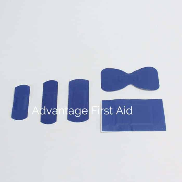 Blue Detectable Plasters
