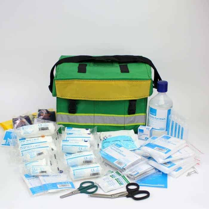 Workplace Emergency First Response Kit in Haversack