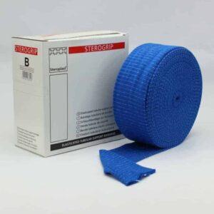 Blue Tubular Bandage