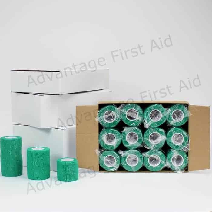 Green Cohesive Bandage