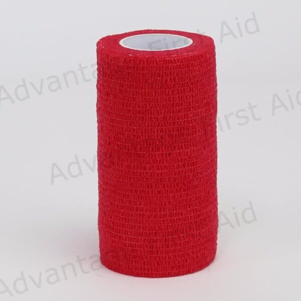 Red Cohesive 10cm