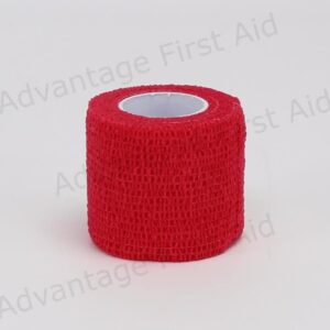 Red Cohesive 5.0cm