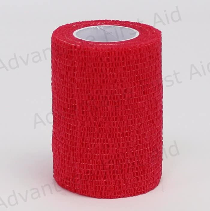 Red Cohesive 7.5cm