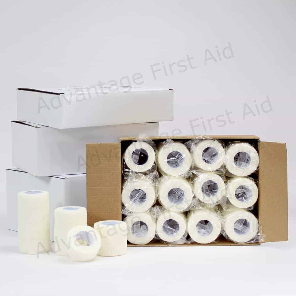 White Cohesive Bandages
