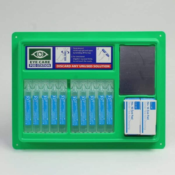 Emergency Eye Wash Pod Panel