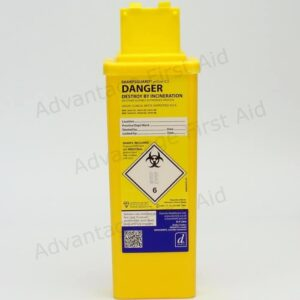 Yellow Sharps Disposal