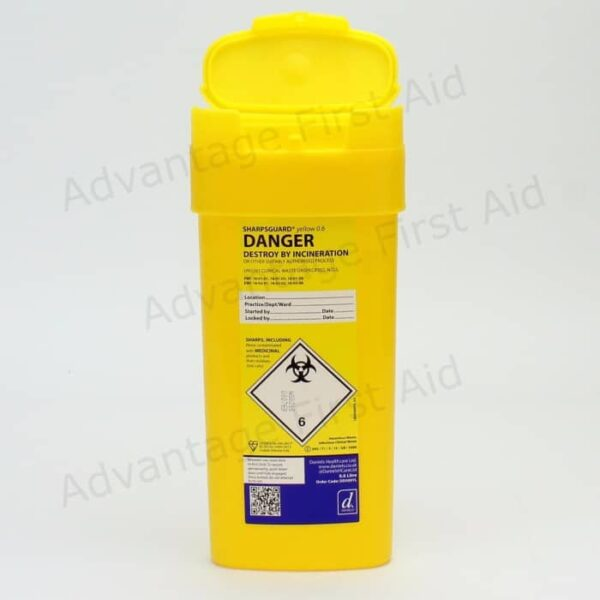 Yellow Sharps Disposal