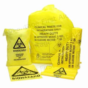 Clinical Waste Bags Yellow