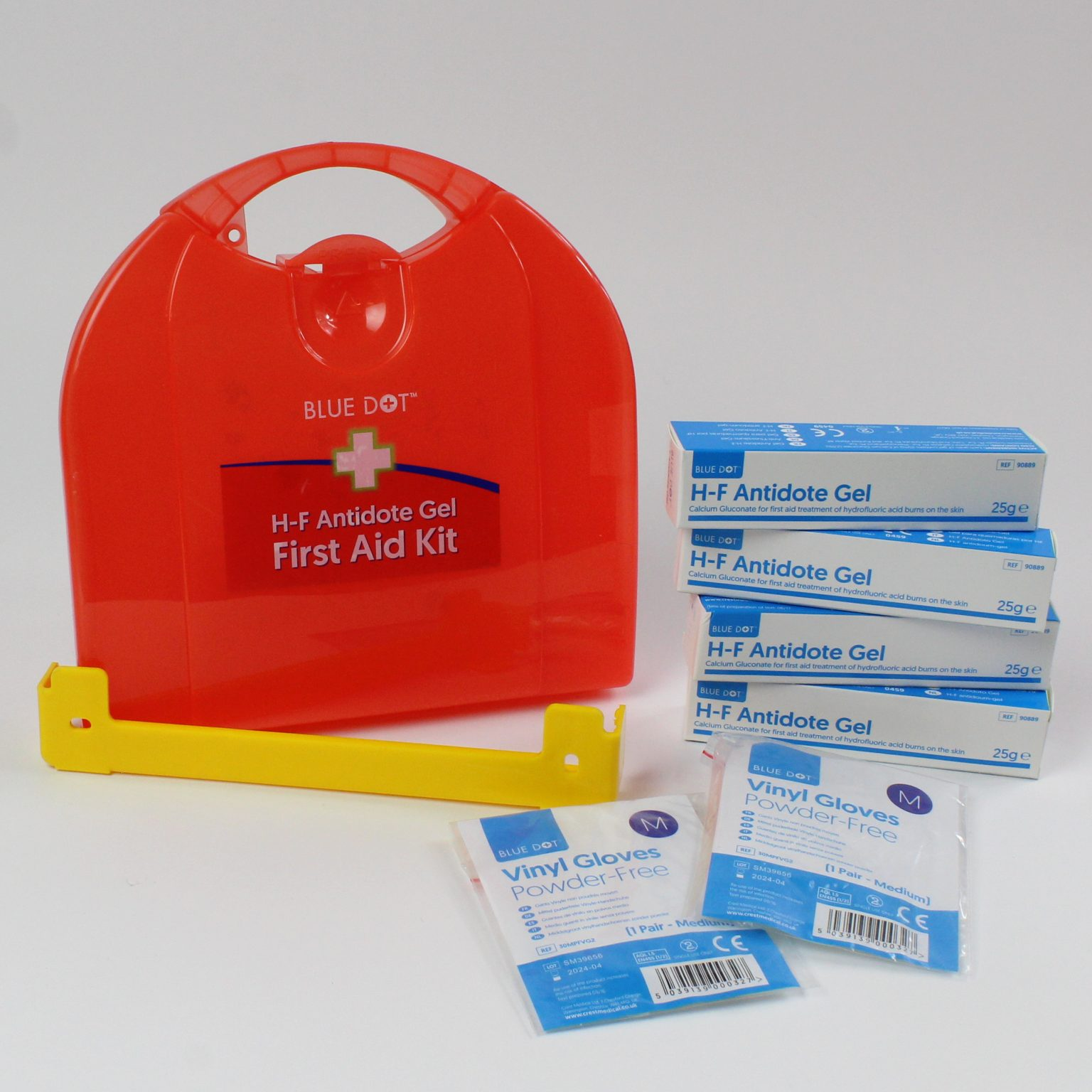 First Aid for Hydrofluoric Burns