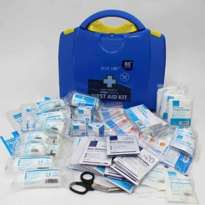 Blue First Aid
