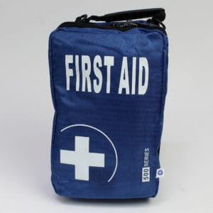 First Aid Blue Bag