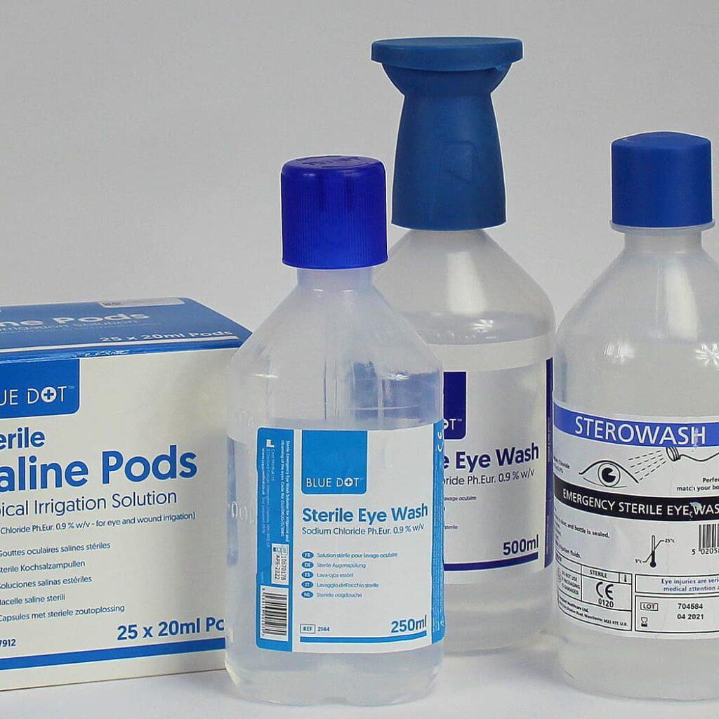 Eyewash Bottles & Pods
