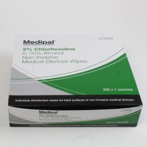 Disinfectant Wipes 2% Chlorhexidine
