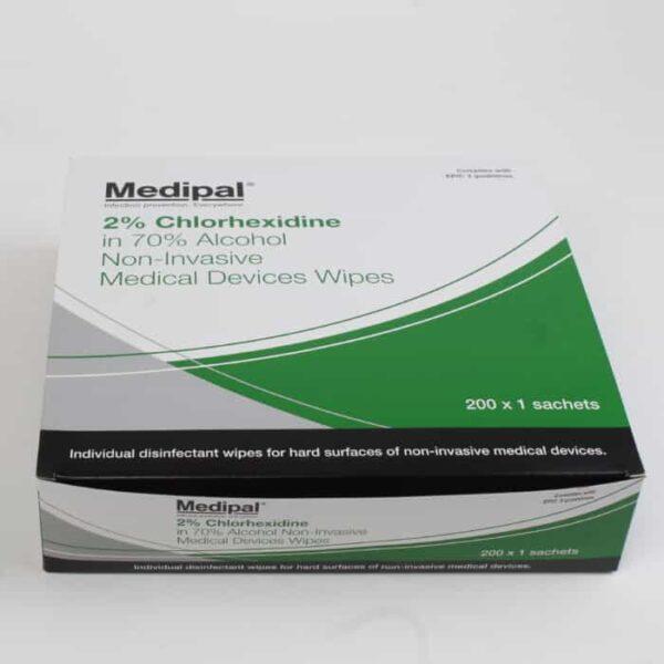 Disinfectant Wipes 2% Chlorhexidine