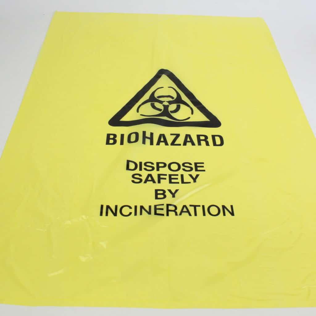 Biohazard Yellow Bag