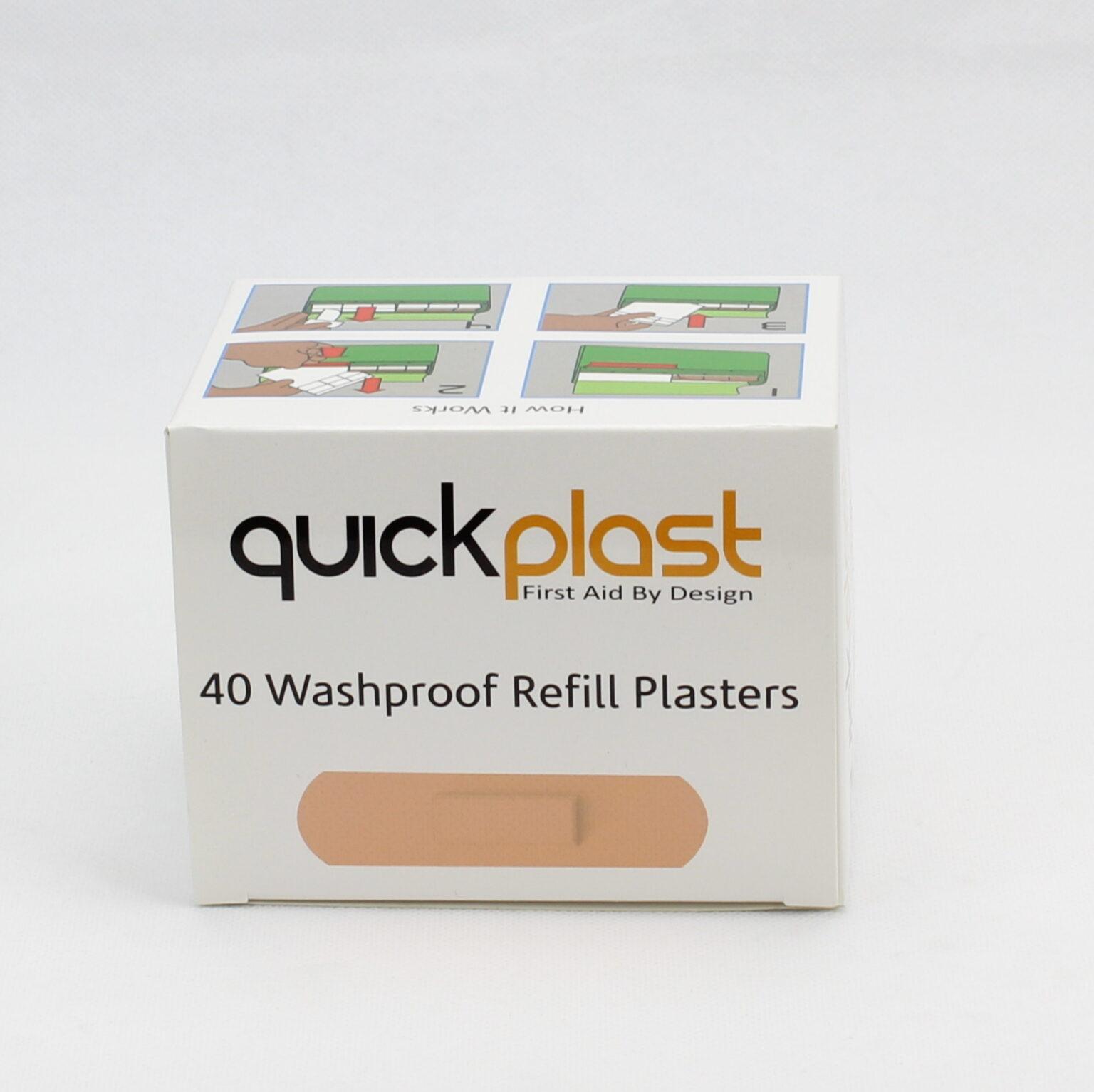 Pilfer Proof Plasters