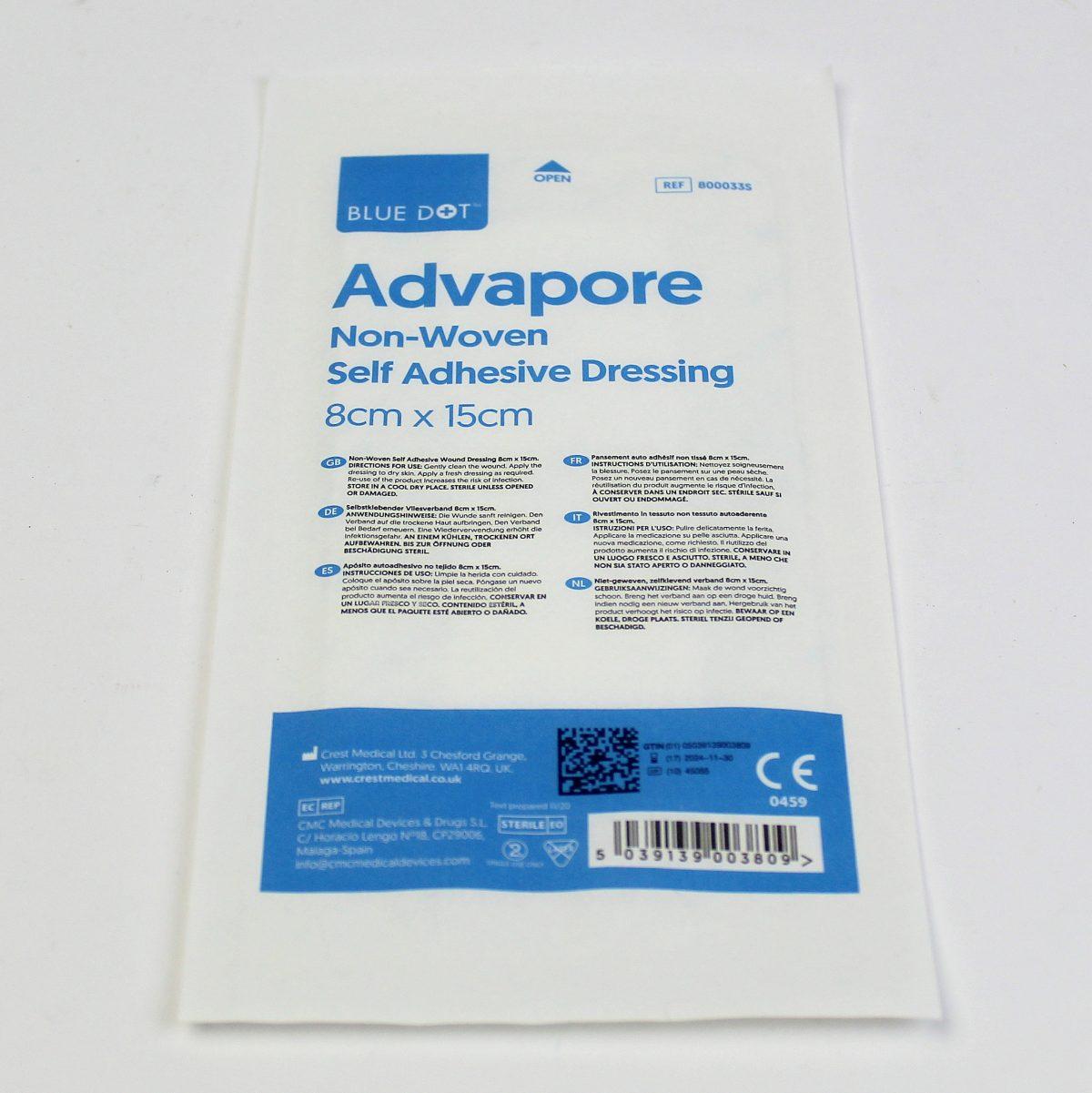 Advapore Dressing